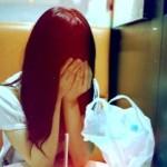 泣く,アジア人女性