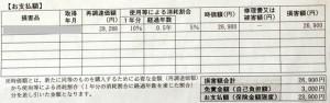 三井住友海上火災保険株式会社 保険金支払通知書