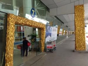中国厦門にある東渡码头フェリー乗り場の出入口