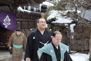 中尊寺,大節分会,2011年,高見盛関