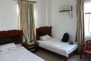 港湾海景宾馆,双月湾,部屋