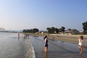 双月湾,ビーチの様子