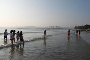 双月湾,旅行,海