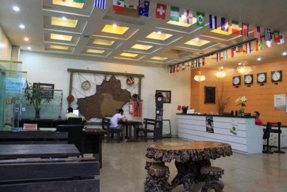 ウルムチ,新疆国際宝鹿青年旅舎ユースホステル,ロビー