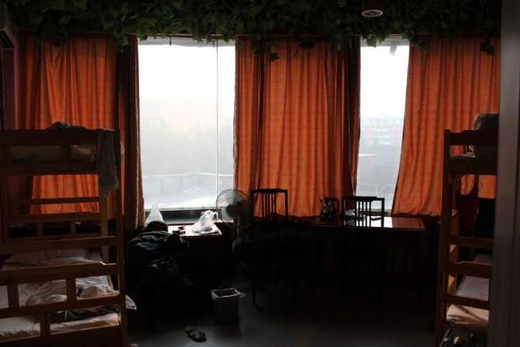 ウルムチ,新疆国際宝鹿青年旅舎ユースホステル,ドミトリールーム