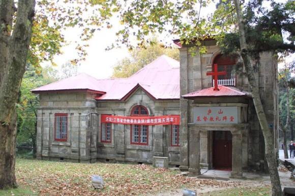 中国、廬山の教会