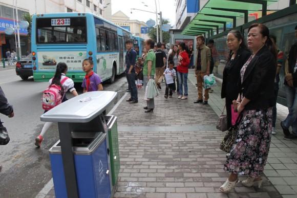 青海省西寧市,バス停