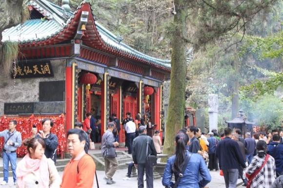 廬山のお寺