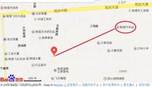 敦煌バスターミナル,地図