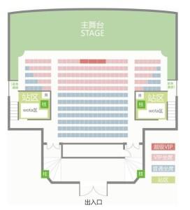 GNZ48の劇場、図面