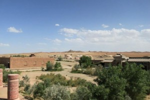 敦煌古城の周辺