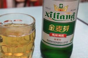 敦煌のビール、金麦芽