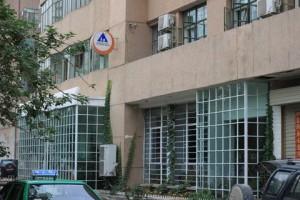 敦煌国際青年旅舎の外観と入口