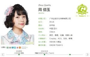 GNZ48周倩玉