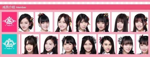 北京BEJ48デビュー!!メンバー...