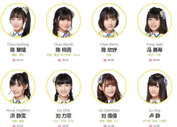 GNZ48、チームNメンバー写真