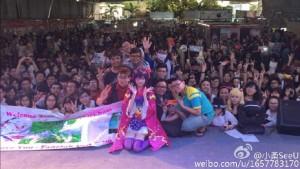 小柔SeeU、ベトナムのファンイベント