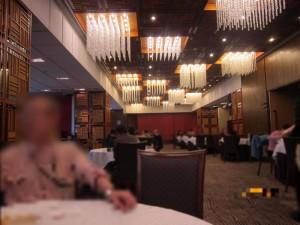 盈丰阁中餐厅、店内の様子