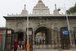 塔爾寺の入口