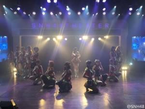 SNH48の劇場シアター