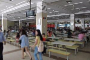 江西師範大学の食堂