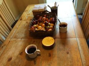 グランドキャニオンホステルの朝食