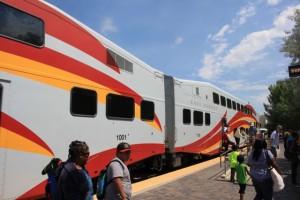 サンタフェ、鉄道