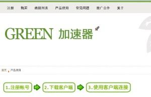GreenVPNの使い方