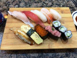 上海のがってん寿司、定食B