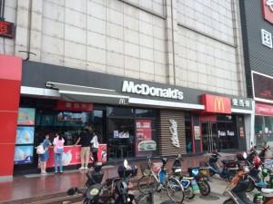 中国のマクドナルド、外観