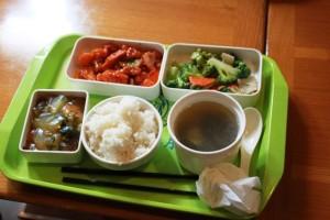 同済大学の学食