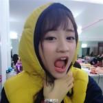 黄婷婷、SNH48、面白い顔