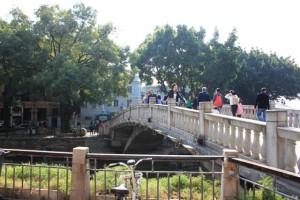 沙面島へ渡る橋