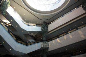 上海博物館の1階ホール
