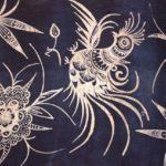 上海博物館の展示品、刺繍