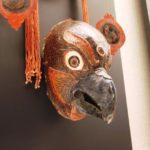 上海博物館の展示品、鶏の仮面