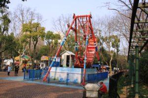 上海の中山公園、遊園地