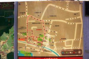 東山口の観光地図