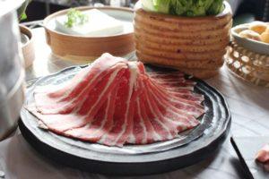 豆捞坊の肉