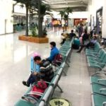 恵州空港、待合スペース