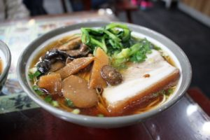 蘇州麺、野菜入り