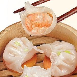 陶陶居のエビ餃子