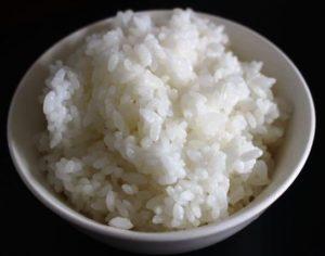 中国産の米、金龍魚の東北大米