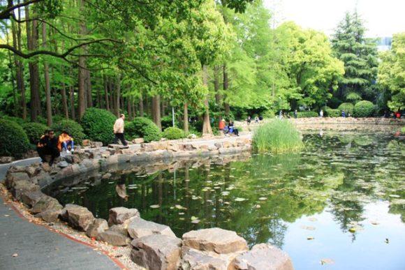 人民公園の池