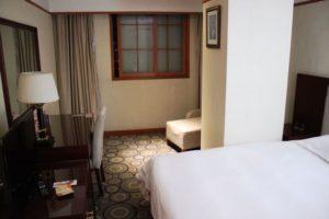 上海中電大酒店のダブルルーム