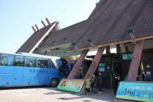 上海野生動物園の入口、観光バス