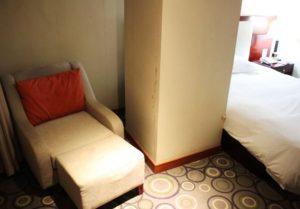 上海中電大酒店のソファー