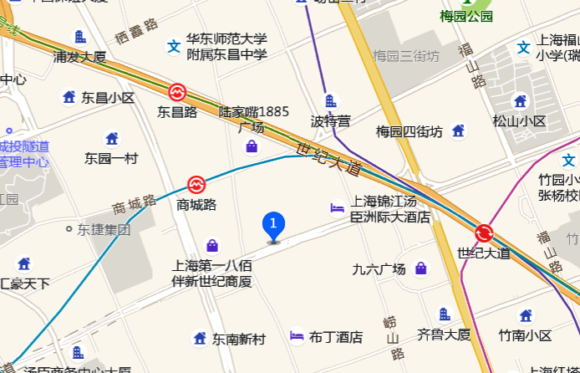 地図 项记潮汕牛肉火锅(浦东食品城店)