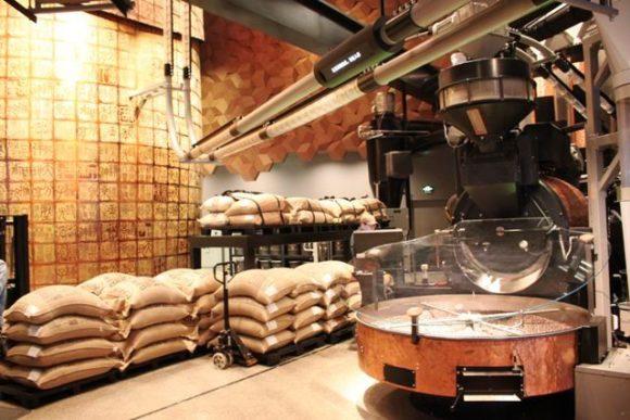 リザーブ ロースタリー上海、コーヒー豆の焙煎