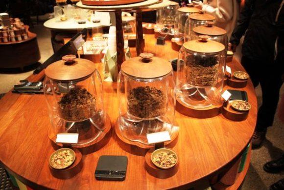 スタバロースタリー上海のお茶